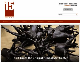 artistsofutah.org screenshot