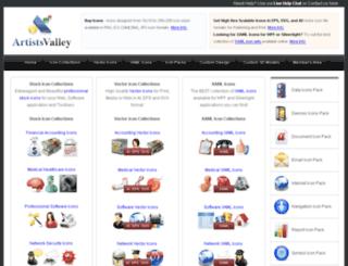 artistsvalley.com screenshot