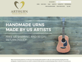 artisurn.com screenshot