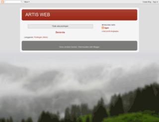 artisweb.blogspot.com screenshot