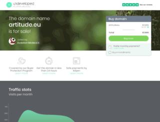 artitude.eu screenshot