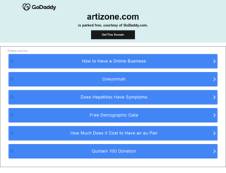 artizone.com screenshot