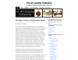 artjewelrycollective.wordpress.com screenshot