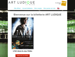 artludique.fnacspectacles.com screenshot
