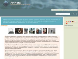 artmetal.com screenshot