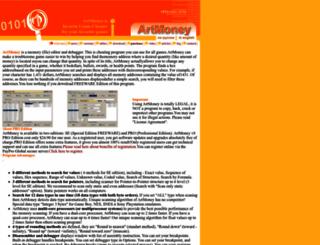 artmoney.ru screenshot
