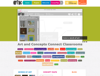 artnc.org screenshot