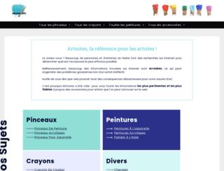 artnotes.info screenshot
