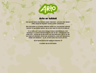 arto.dk screenshot