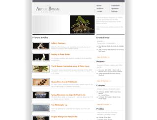 artofbonsai.org screenshot