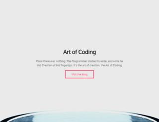 artofcoding.nl screenshot