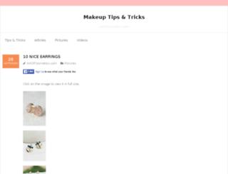 artofcosmetics.com screenshot