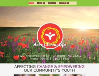 artoflivinglife.com screenshot