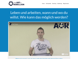artofrebellion.de screenshot