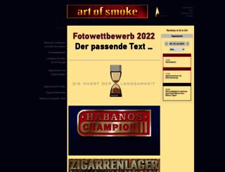 artofsmoke.de screenshot