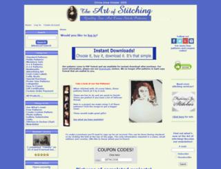 artofstitching.com screenshot