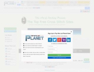 artofstitching.top-site-list.com screenshot