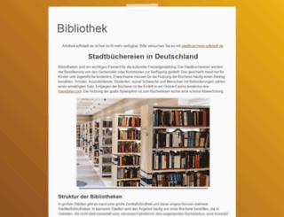 artothek-erftstadt.de screenshot