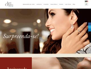artouro.com.br screenshot