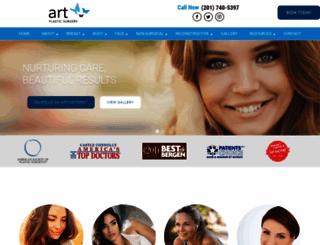 artplasticsurgeons.com screenshot