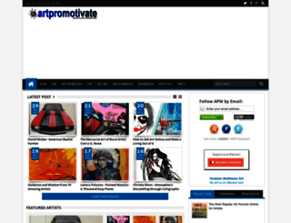 artpromotivate.com screenshot