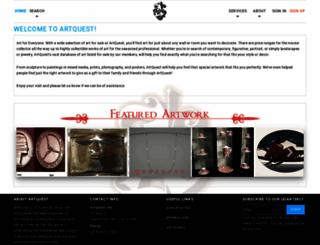 artquest.com screenshot