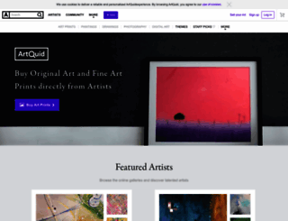 artquid.com screenshot