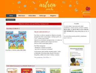 artrea.com.hr screenshot