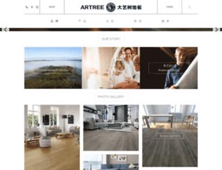 artreefloor.com screenshot