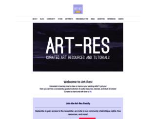 artres.xyz screenshot