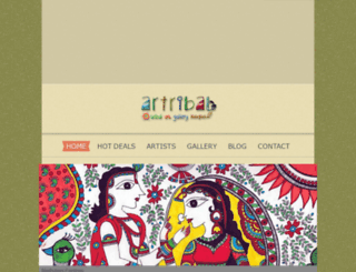 artribal.com screenshot
