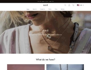 artrill.com screenshot