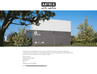 artrix.co.uk screenshot