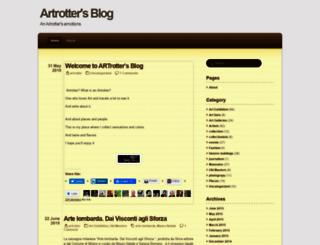 artrotter.wordpress.com screenshot