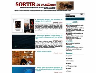 arts-spectacles.com screenshot