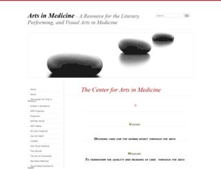 artsinmedicine.co screenshot