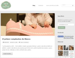 artsncrafts.es screenshot