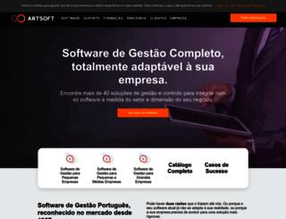 artsoft.pt screenshot