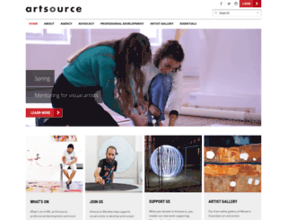 artsource.net.au screenshot