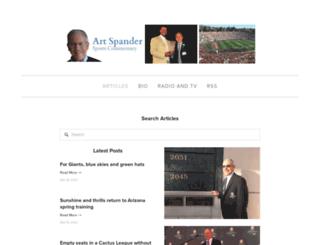 artspander.com screenshot