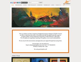 artspicegallery.com screenshot