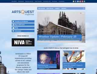 artsquest.org screenshot