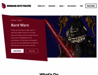 artstheatre.com.au screenshot