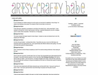 artsycraftybabe.typepad.com screenshot