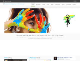 artszkpodst.gorzow.pl screenshot