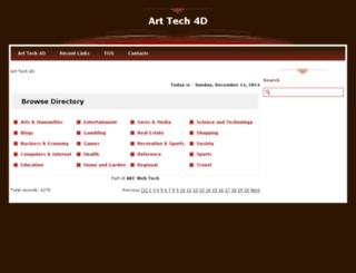 arttech4d.com screenshot
