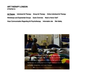 arttherapylondon.co.uk screenshot