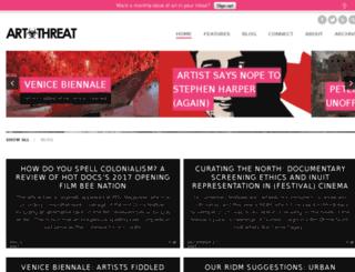 artthreat.net screenshot