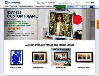 arttoframes.com screenshot