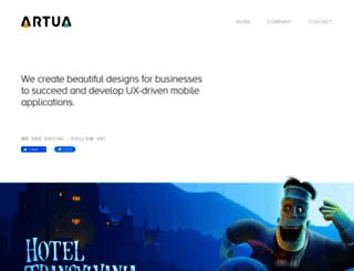 artua.com screenshot